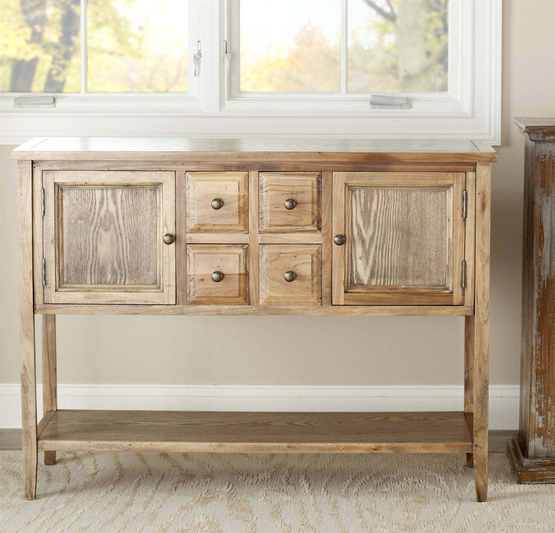 Safavieh Amh6517A Charlotte Sideboard Sfv Amh6517A In Most Recent Safavieh Sideboards (#7 of 15)