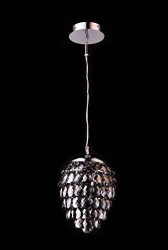 Saint Mossi Crystal Rain Drop Chandelier Modern & Contemporary Pertaining To Most Up To Date Crystal Teardrop Pendant Lights (#13 of 15)