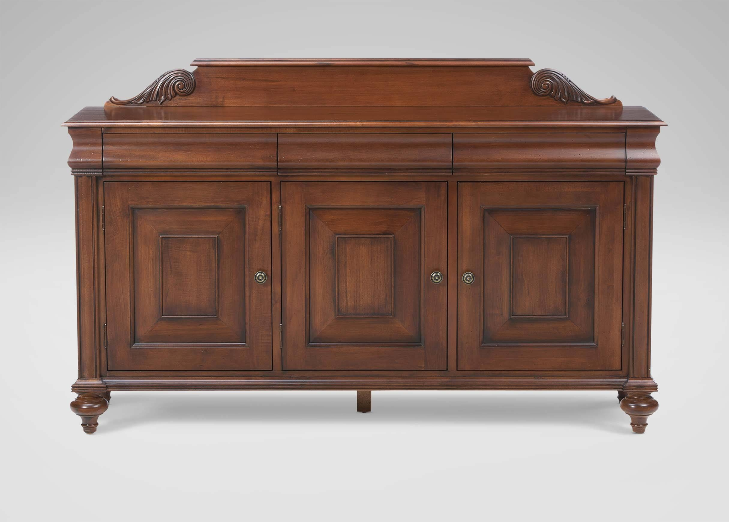 Saxton Buffet | Buffets, Sideboards & Servers For 2018 Ethan Allen Sideboards (#8 of 15)