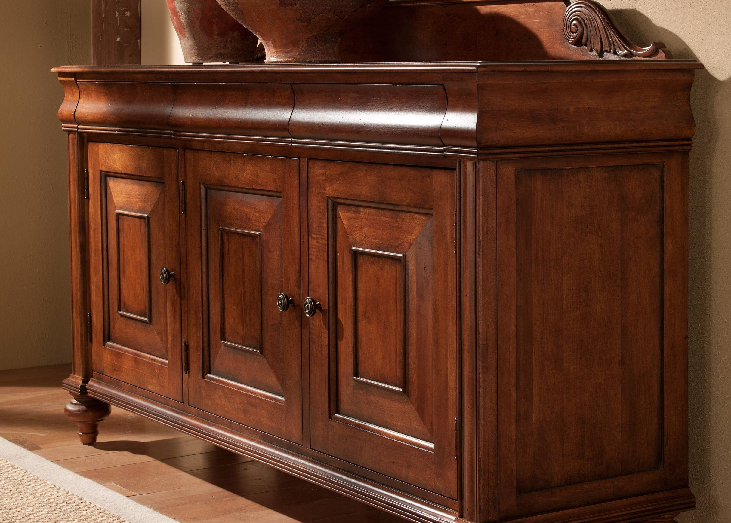 Saxton Buffet | Buffets, Sideboards & Servers For Most Popular Ethan Allen Sideboards (#9 of 15)