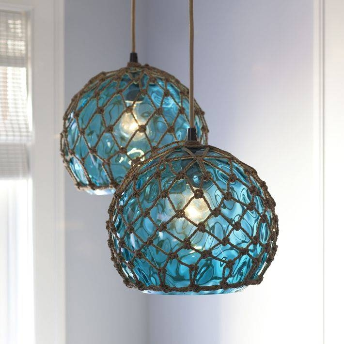 Sea Glass Lighting Fixtures – Lilianduval For Most Recently Released Sea Glass Pendant Lights (#13 of 15)