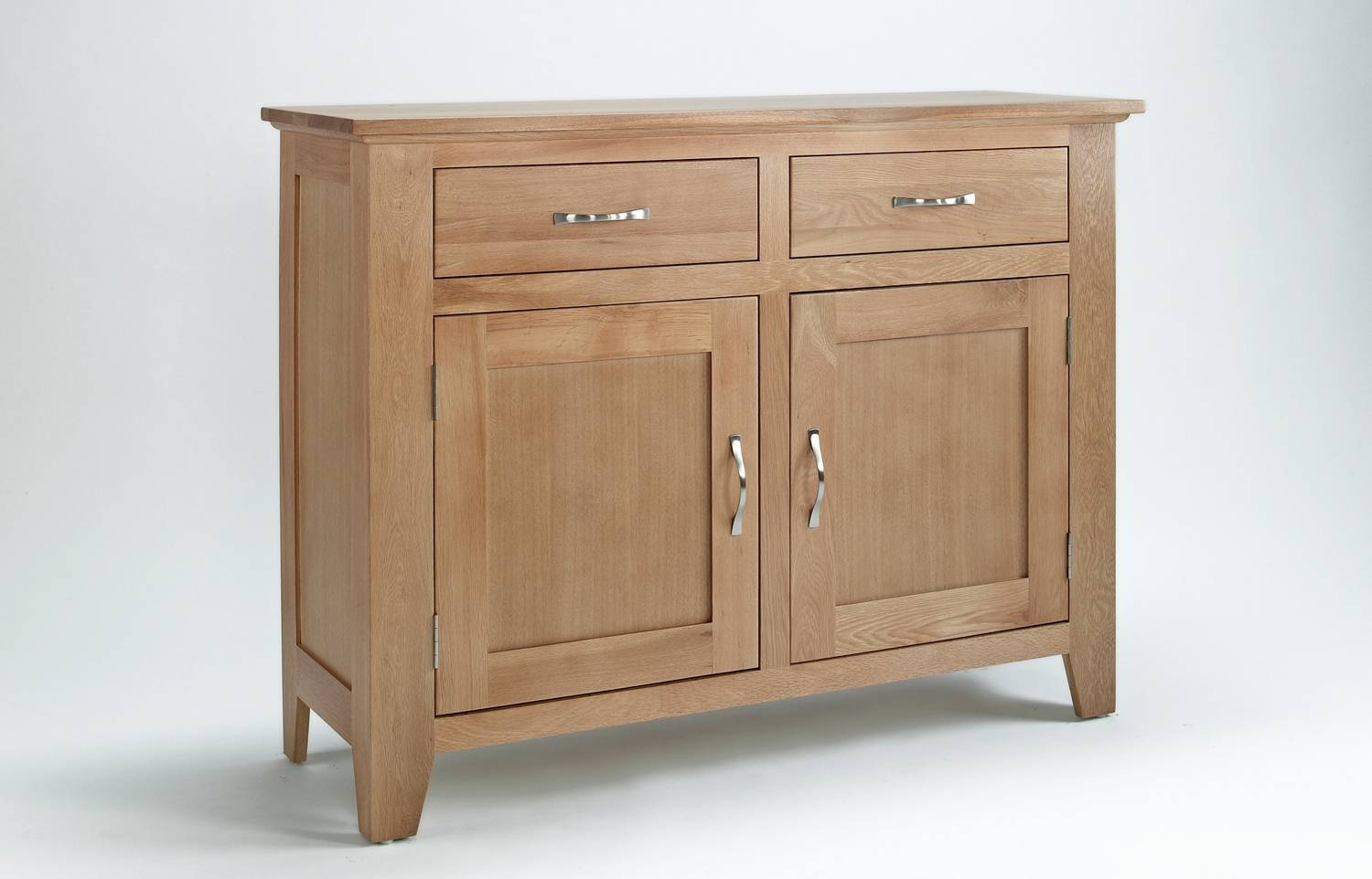 Sherwood Oak Sideboard With 2 Doors & 2 Drawers With 2018 2 Door Sideboards (#8 of 15)