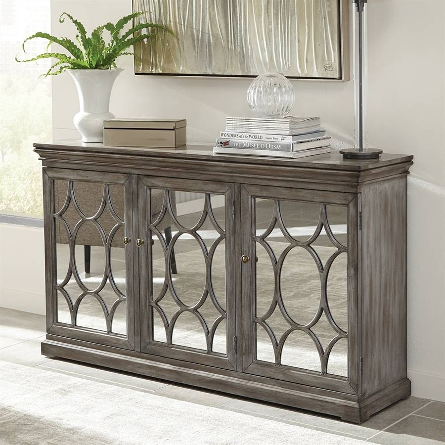 Shop Dining & Kitchen Storage At Lowes Pertaining To Most Recent 50 Inch Sideboards (#12 of 15)