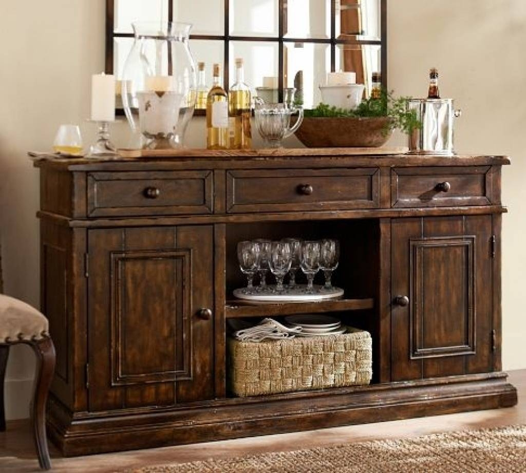 Sideboard 13 Best Dining Room Images On Pinterest | Antique Inside Recent Pottery Barn Sideboards (#4 of 15)