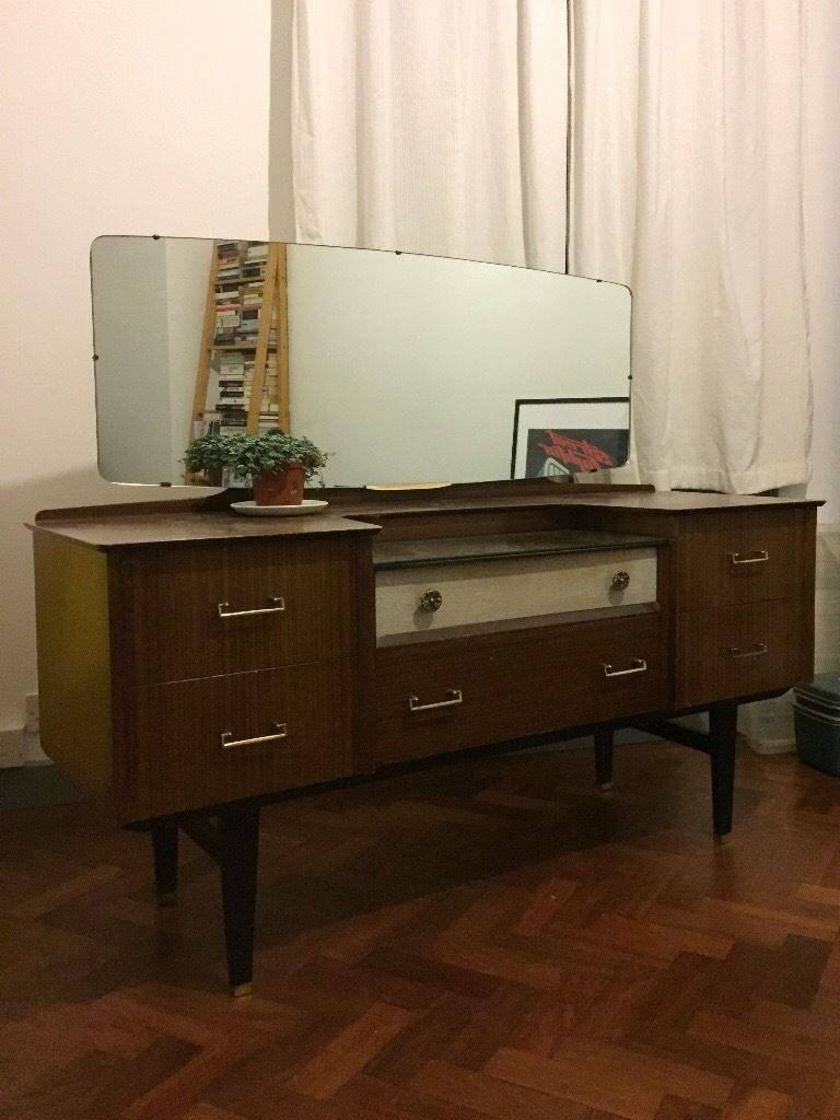Sideboard: Amazing 50s Sideboard Furniture Credenzas For Sale With Regard To Most Popular 50s Sideboards (View 8 of 15)