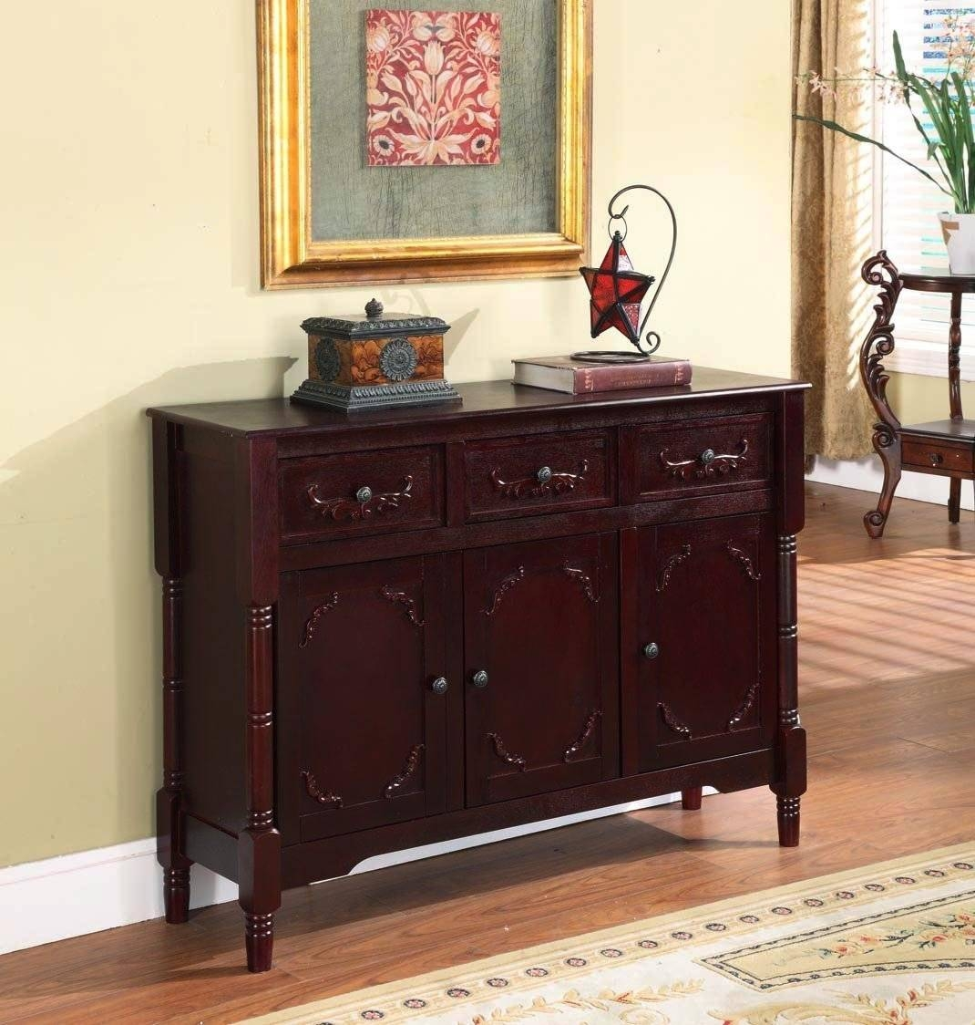 Sideboard: Awesome Overstock Sideboard For Sale Dining Room With Regard To Most Up To Date Overstock Sideboards (#15 of 15)