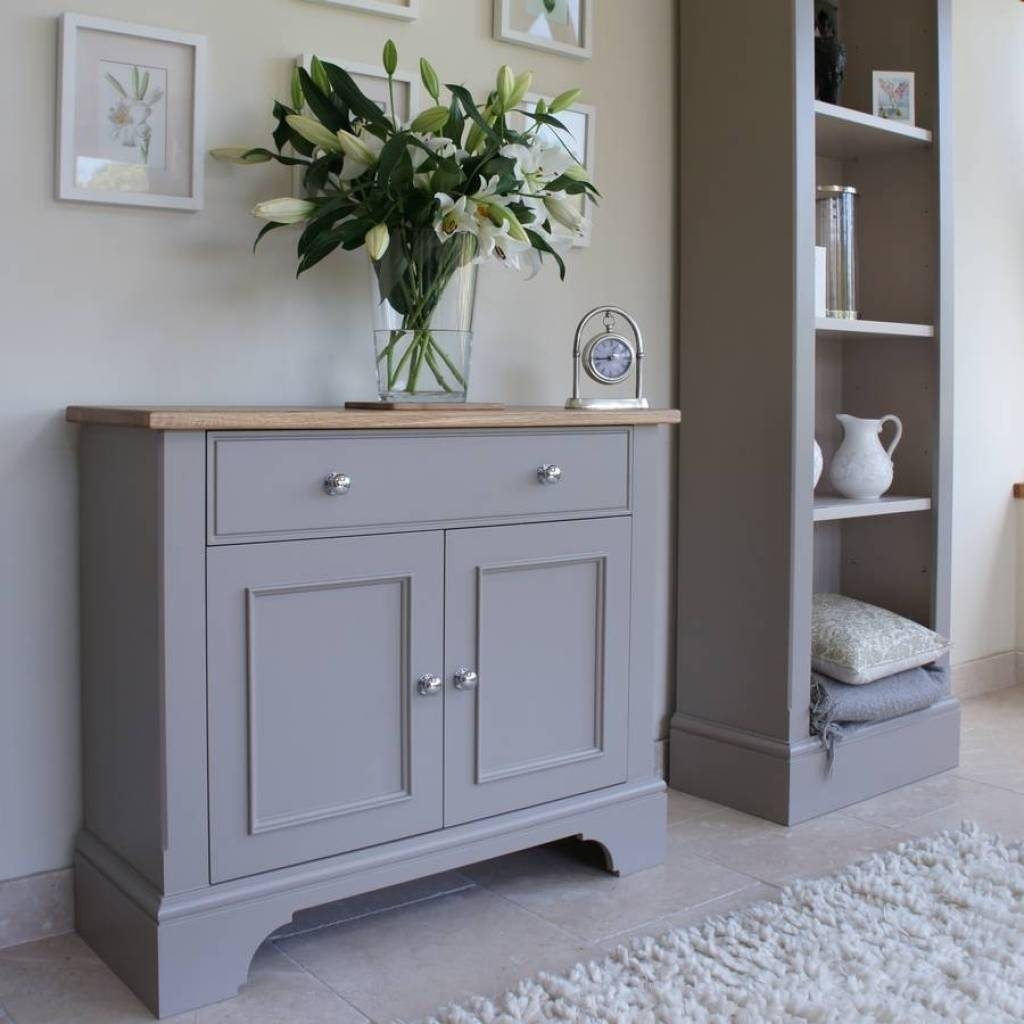 Sideboard Baslow Slimline Sideboard In Choice Of Colours And Size In Most Up To Date Slimline Sideboards (#3 of 15)