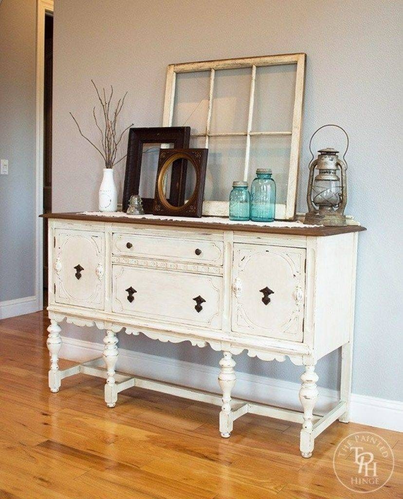 Sideboard Best 25 Antique Buffet Ideas On Pinterest | Painted For Newest Sideboards And Hutches (View 6 of 15)