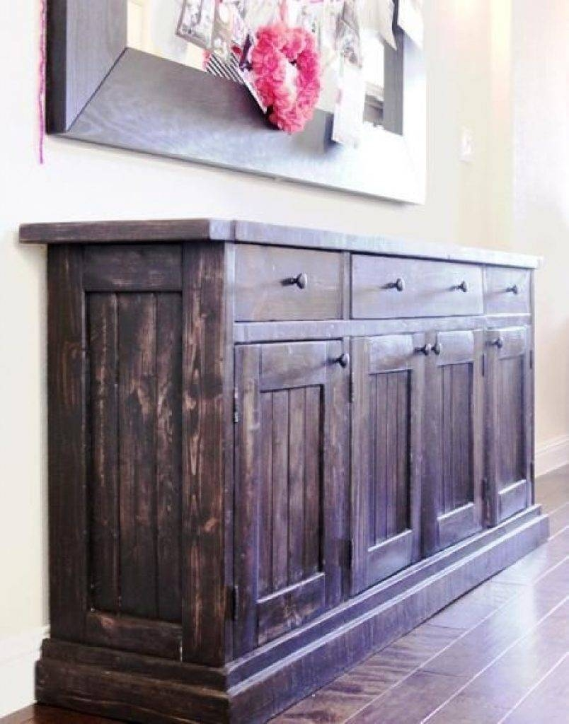 Sideboard Best 25 Sideboard Table Ideas On Pinterest | Patio Bar For Most Recently Released Bar Sideboards (#7 of 15)