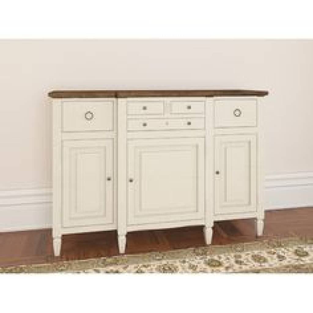 Sideboard Buffet Cabinet Sideboard Table Shallow Hall Depth French With Regard To Most Current Shallow Buffet Sideboards (#9 of 15)