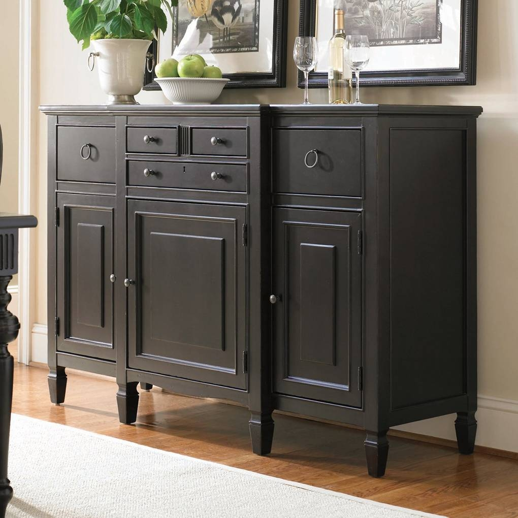 Sideboard Buffet Tables – Home Design – Mannahatta With Regard To Newest Dining Room Servers And Sideboards (#11 of 15)