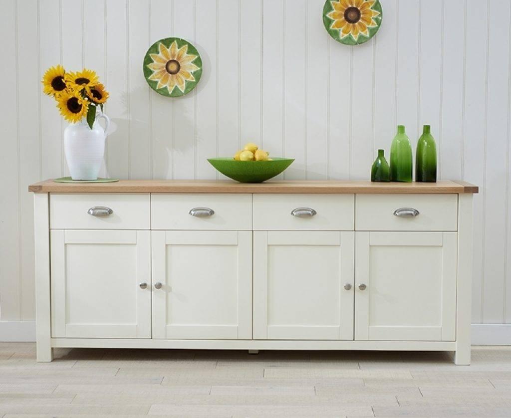 Sideboard Buy Mark Harris Sandringham Oak And Cream Extra Large Within 2018 Cream Oak Sideboards (View 13 of 15)