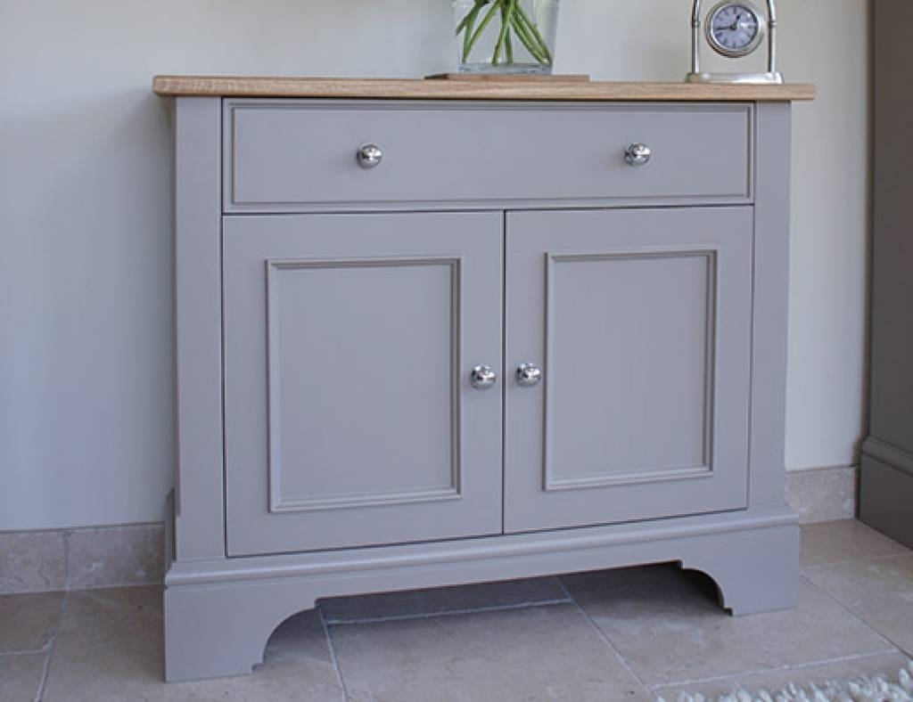 Sideboard Chatsworth Cabinets Baslow Slimline Sideboard With With Regard To Best And Newest Slimline Sideboards (#6 of 15)