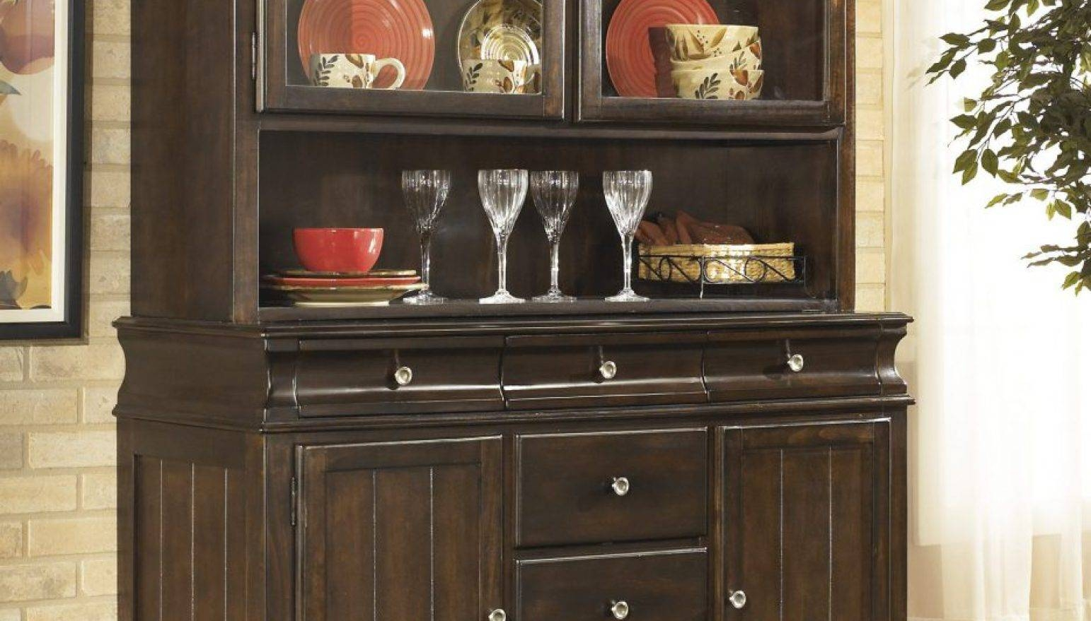 Sideboard : Cheap Buffet Tables Sideboards Horrifying Vintage In 2018 42 Inch Sideboards (#12 of 15)