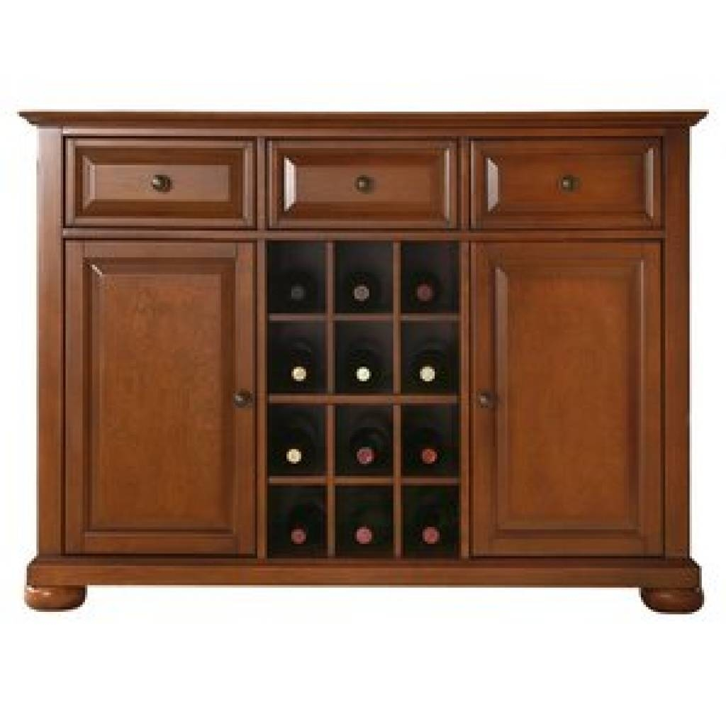 Sideboard Cherry Sideboards & Buffets You'll Love | Wayfair With In Best And Newest Cherry Sideboards (#12 of 15)