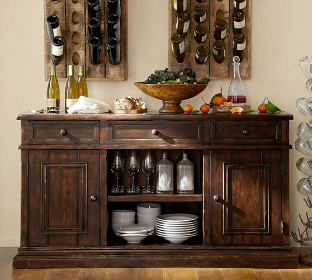 Sideboard Cortona Buffet | Pottery Barn Pertaining To Pottery Barn For Most Recently Released Pottery Barn Sideboards (#9 of 15)