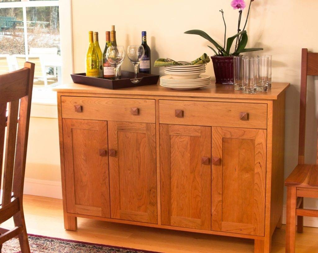 Sideboard Craftsman Furniture: An Investment You Can Appreciate In Most Recent Cherry Sideboards (#13 of 15)