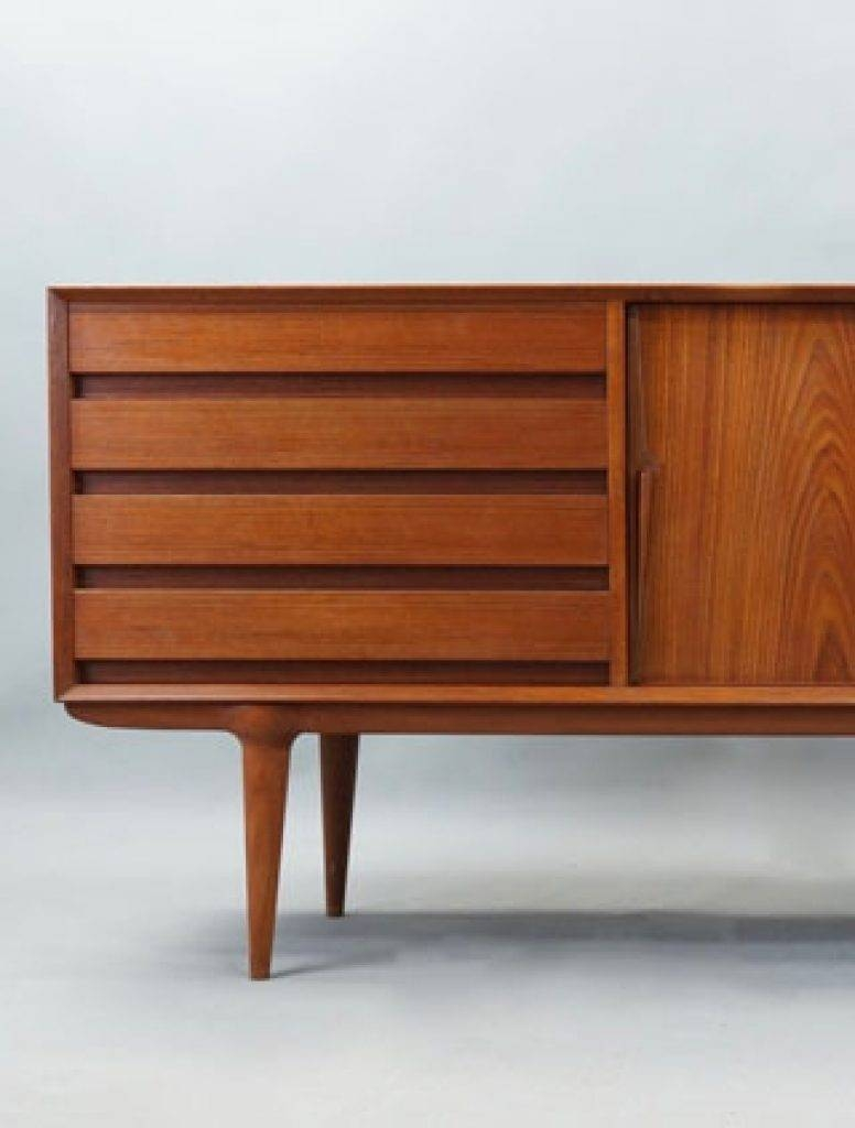Sideboard Dansk Vintage Original Danish Mid Century Modern Retro Throughout 2017 Danish Retro Sideboards (#12 of 15)