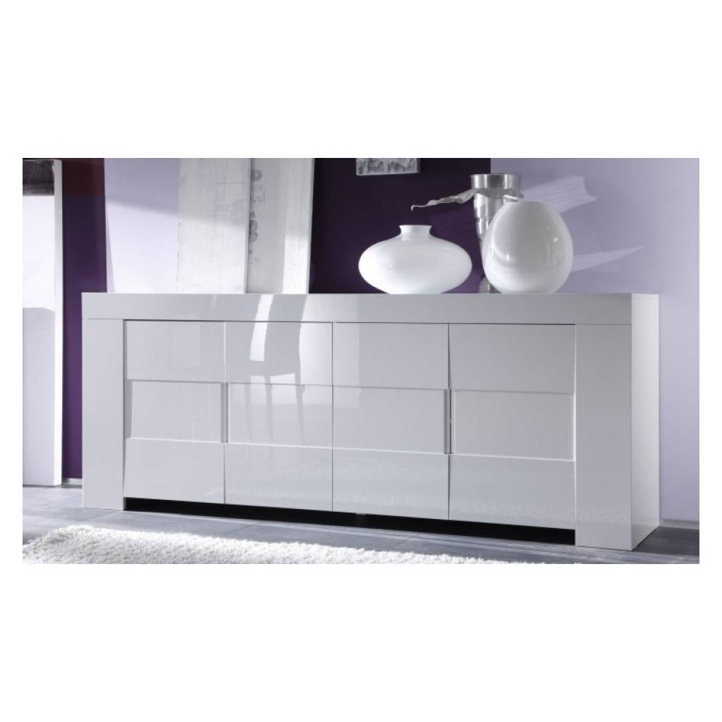 Sideboard Eos White Gloss Sideboard Sideboards Sena Home Furniture Inside Current Uk Gloss Sideboards (#8 of 15)