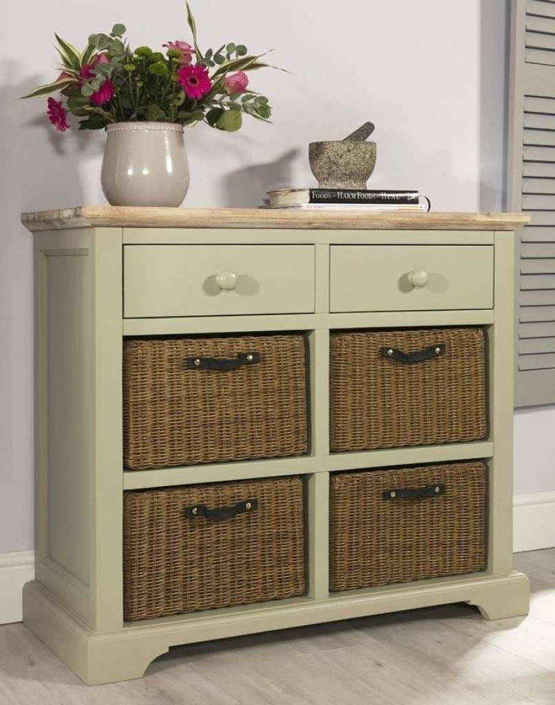 Sideboard Florence Sage Green Sideboard With 2 Drawers And Storage Inside 2018 Sage Green Sideboards (#10 of 15)