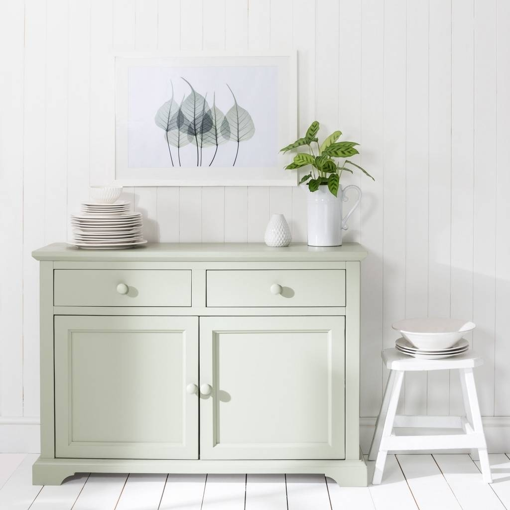 Sideboard Florence Sage Green Sideboard With Sage Green Sideboard Within 2017 Sage Green Sideboards (#11 of 15)