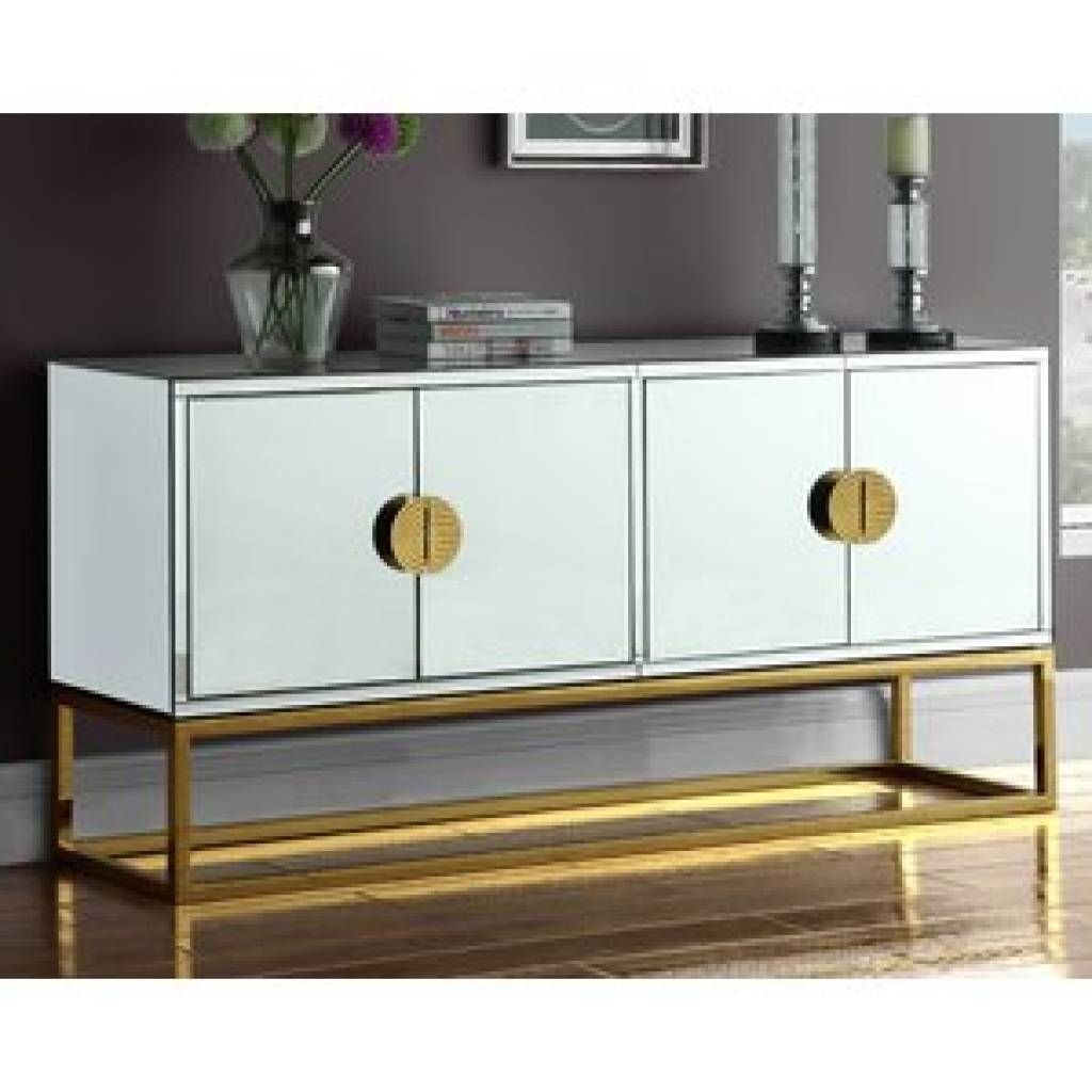 Sideboard Gold Sideboards & Buffets You'll Love | Wayfair Inside With Current Gold Sideboards (#12 of 15)