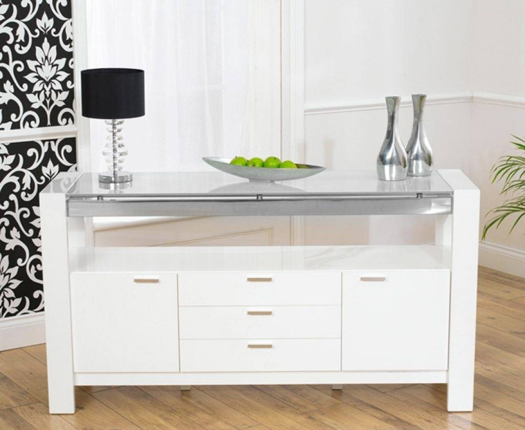 Sideboard High Gloss Sideboards | White Gloss | Black Gloss Throughout Current Uk Gloss Sideboards (#11 of 15)