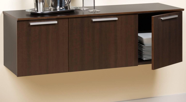 Sideboard : Modern Sideboards Furniture Ravishing Dark Wood With Regard To Most Popular Extra Deep Sideboards (#14 of 15)