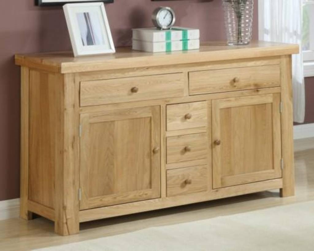 Sideboard Oak Sideboard | Solid Oak Sideboards | Oak Dresser Units For Latest Solid Oak Sideboards For Sale (#9 of 15)