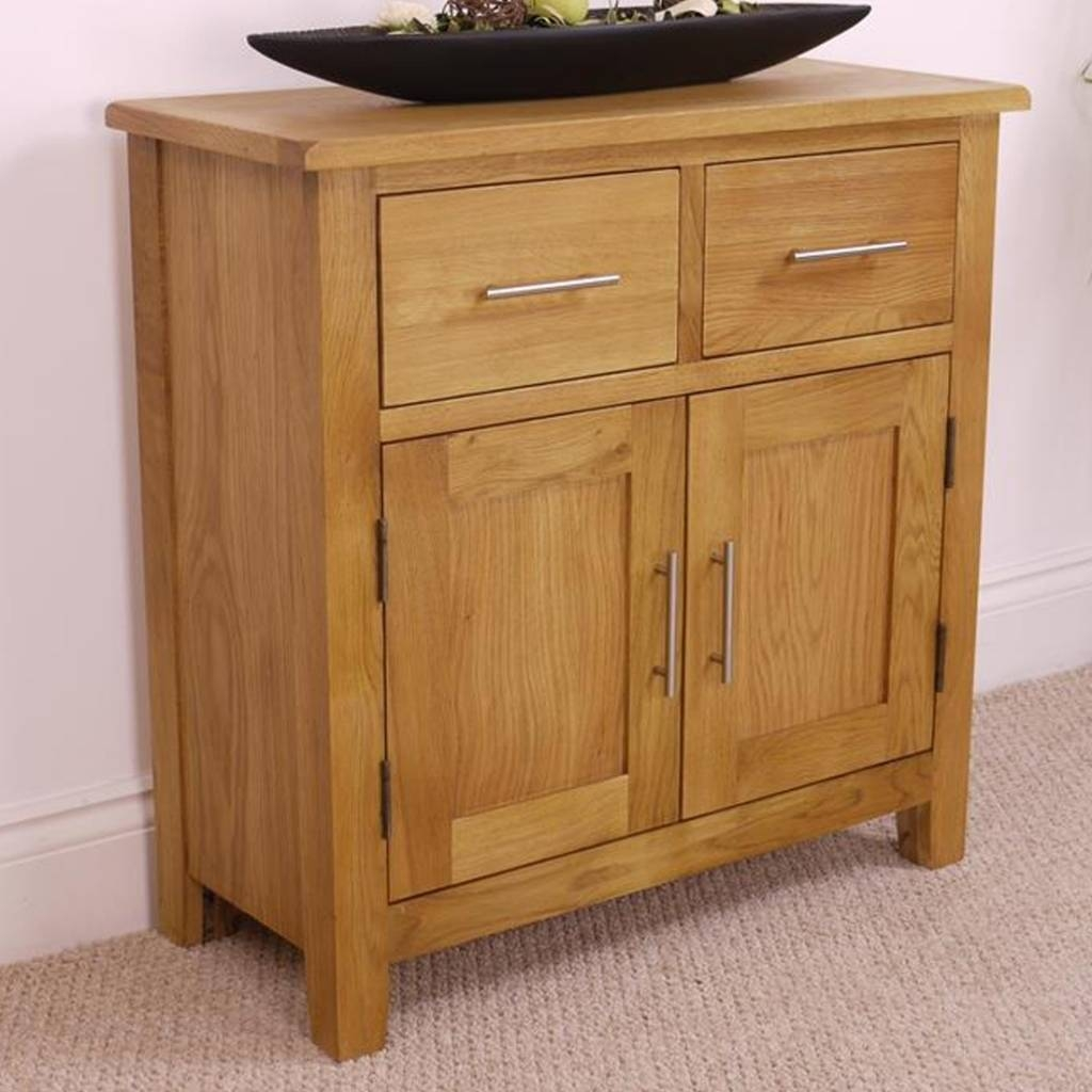 Sideboard Oak Sideboards | Ebay With Regard To Tall Oak Sideboard For Best And Newest Slim Oak Sideboards (View 10 of 15)