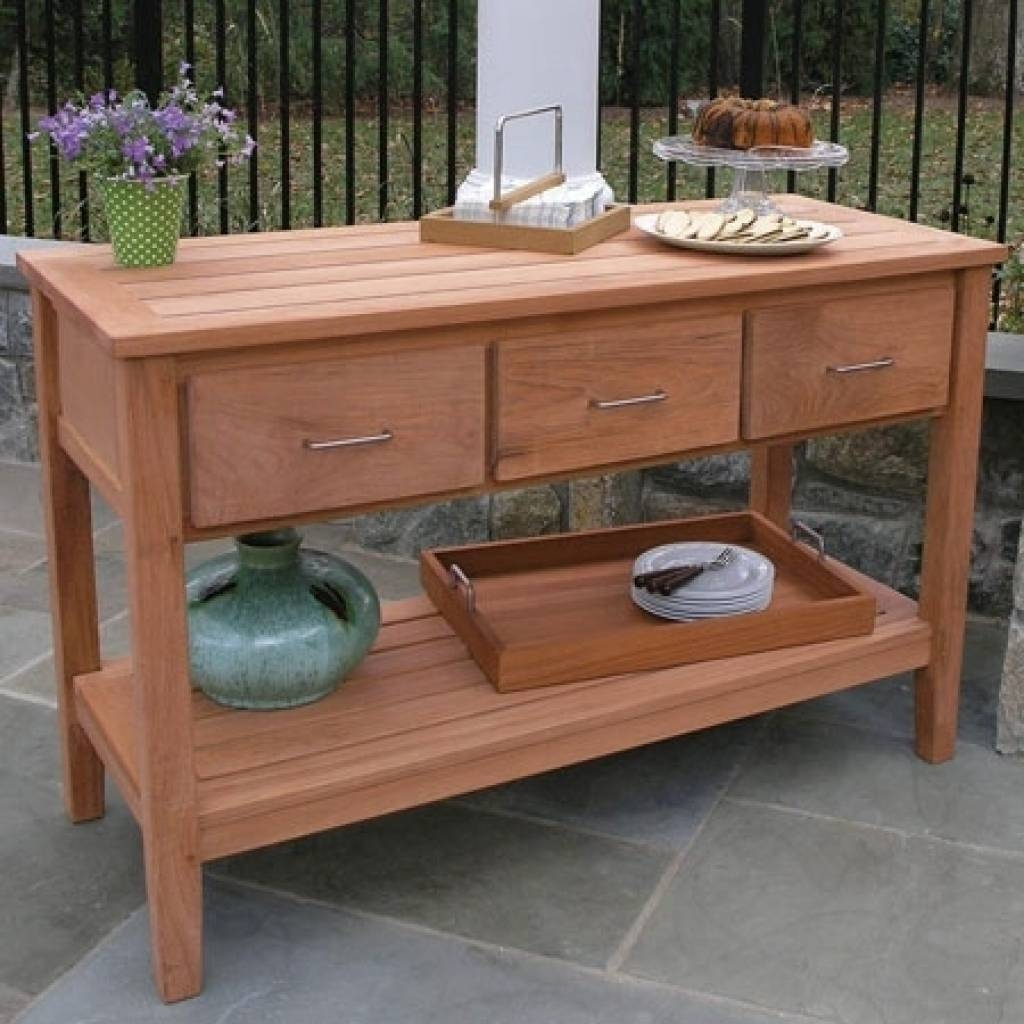 Sideboard Outdoor Sideboards And Buffets 1000 Ideas About Outdoor Within 2018 Outdoor Sideboards (#7 of 15)