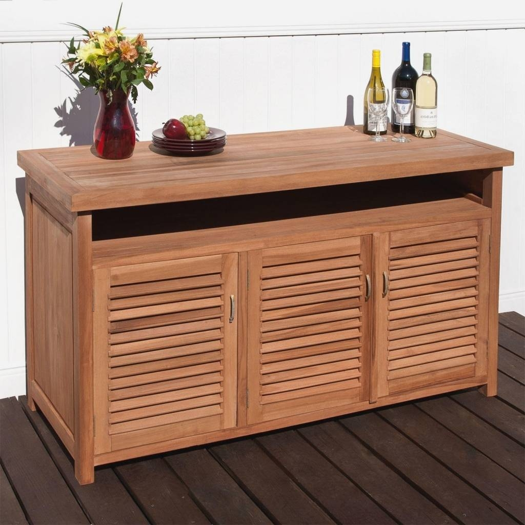 Sideboard Outdoor Sideboards And Buffets: Outdoor Sideboards And Regarding 2018 Outdoor Sideboards (#8 of 15)