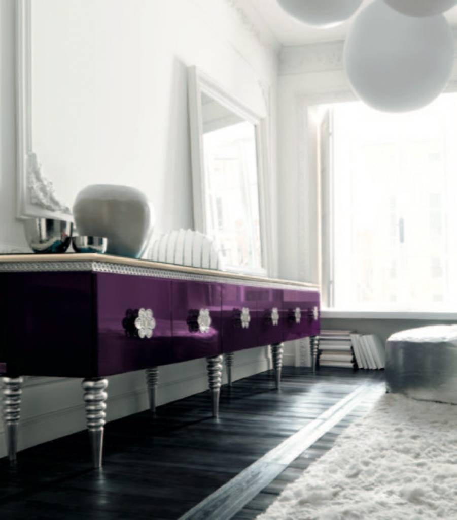 Sideboard Purple Sideboardaltamoda Eclectic Hall London With Hall For Recent Eclectic Sideboards (#14 of 15)