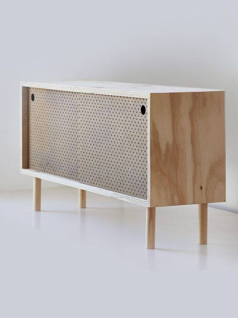 Sideboard Sideboard Ply And Brown Pegboard Leanne Culy | Furniture For Newest Homebase Sideboards (#14 of 15)