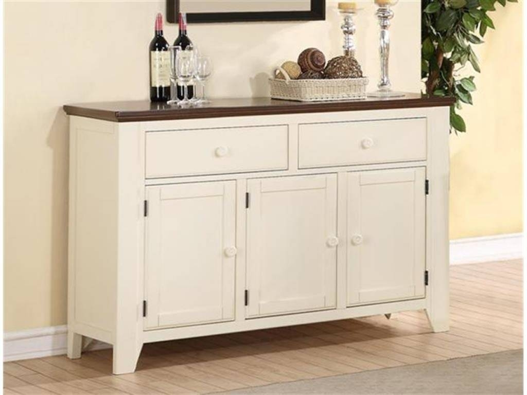 Sideboard Sideboards: 2017 Antique White Sideboard Ideas Buffet Regarding Newest Antique White Sideboards (#12 of 15)