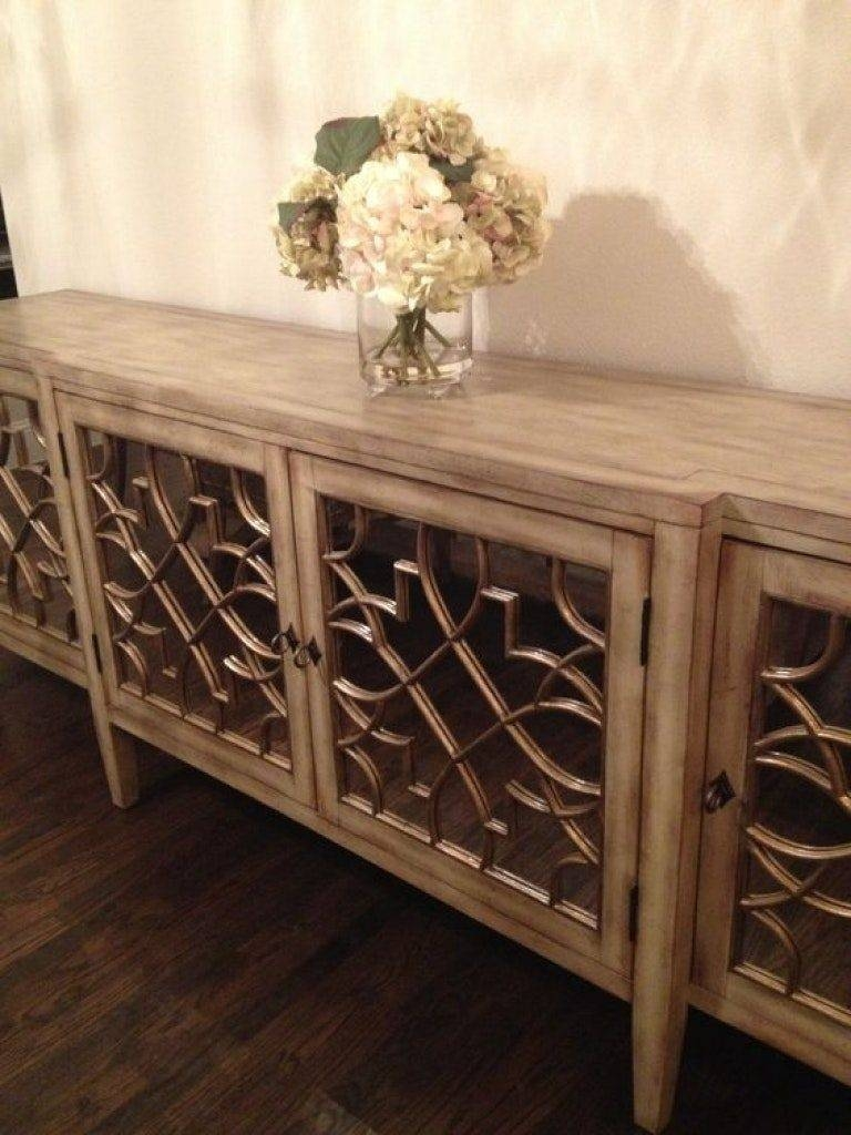 Sideboard Sideboards Amazing Glass Buffet Table Pics With Regarding Newest Glass Buffet Table Sideboards (#8 of 15)