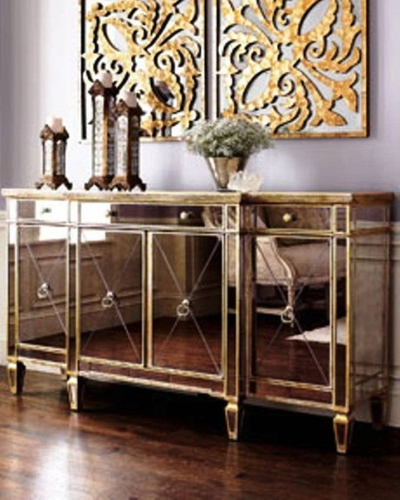 Popular Photo of Glass Buffet Table Sideboards
