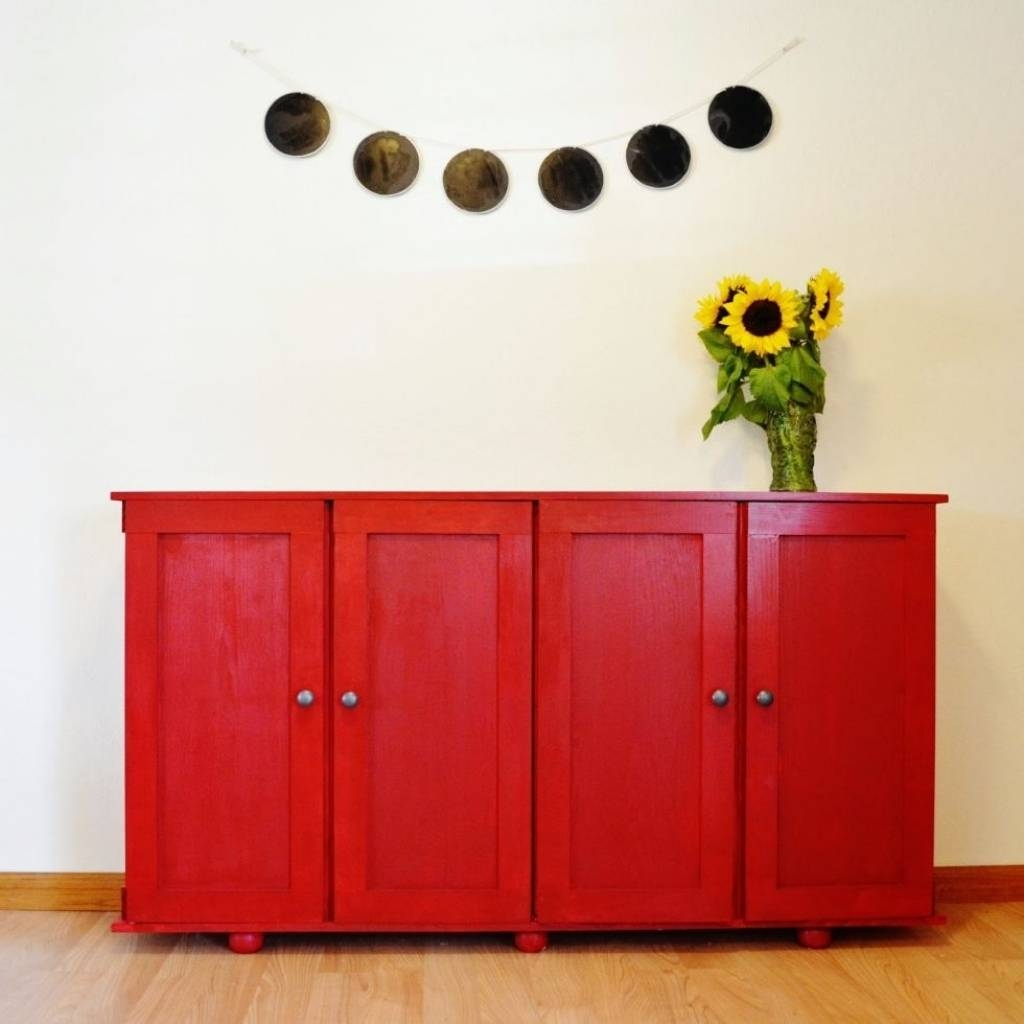 Sideboard Sideboards: Amusing Ikea Credenza Storage Cabinets With Within Newest Bjursta Sideboards (#13 of 15)