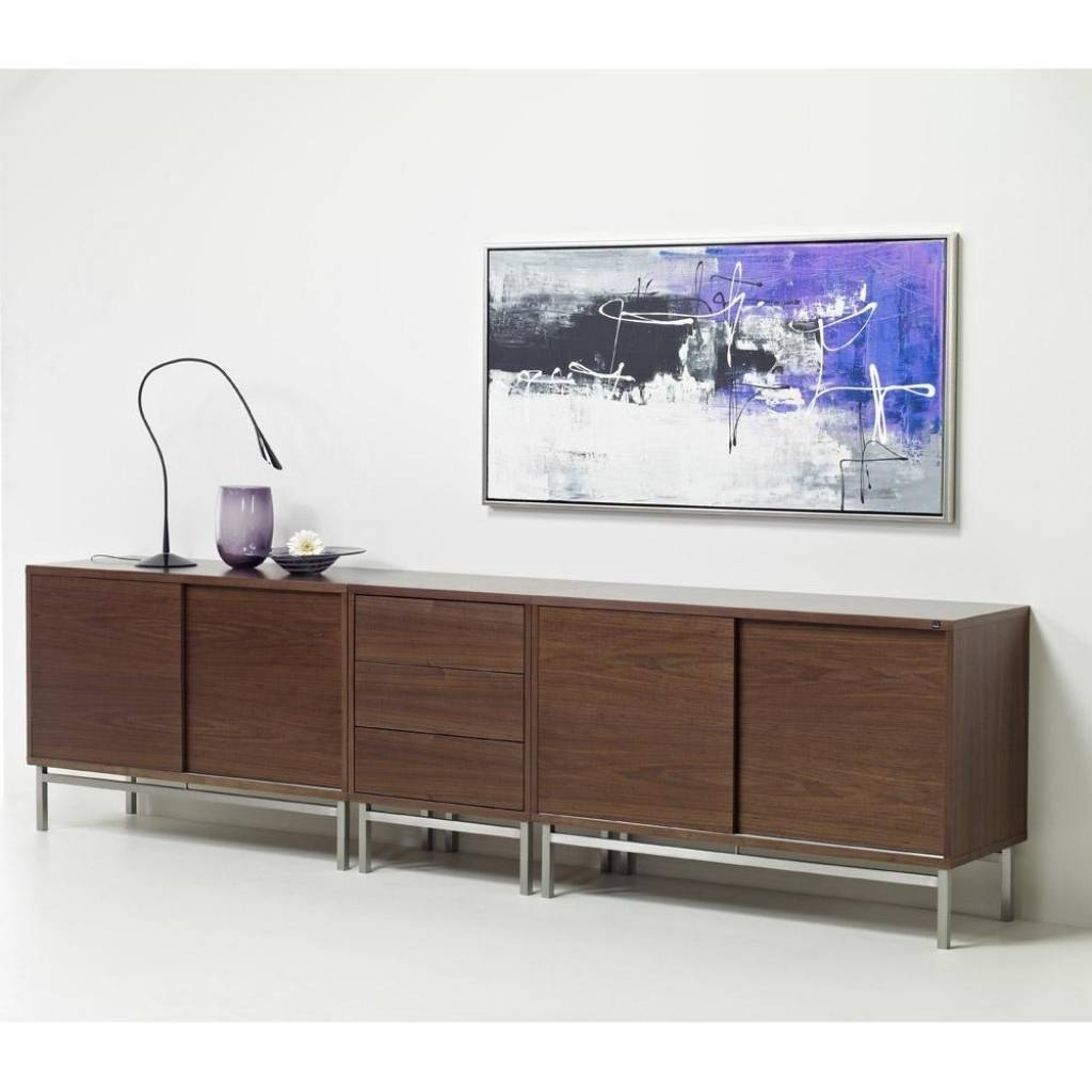 Sideboard Sideboards: Astounding Extra Long Sideboard Long Throughout Most Up To Date Long Sideboards (#9 of 15)