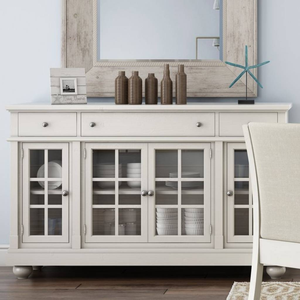 Sideboard Sideboards & Buffet Tables You'll Love | Wayfair In 6 With Most Current 6 Foot Sideboards (#11 of 15)