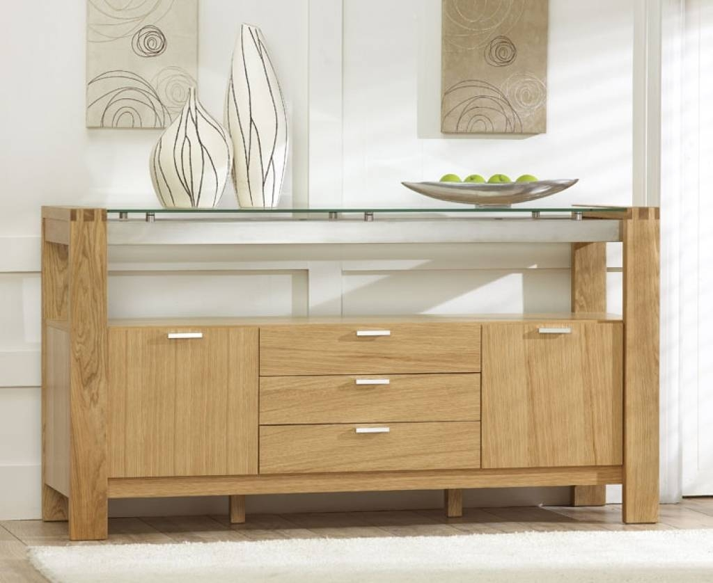 Sideboard Sideboards For Sale Intended For Solid Oak Sideboards Uk For Most Popular Solid Oak Sideboards For Sale (#10 of 15)