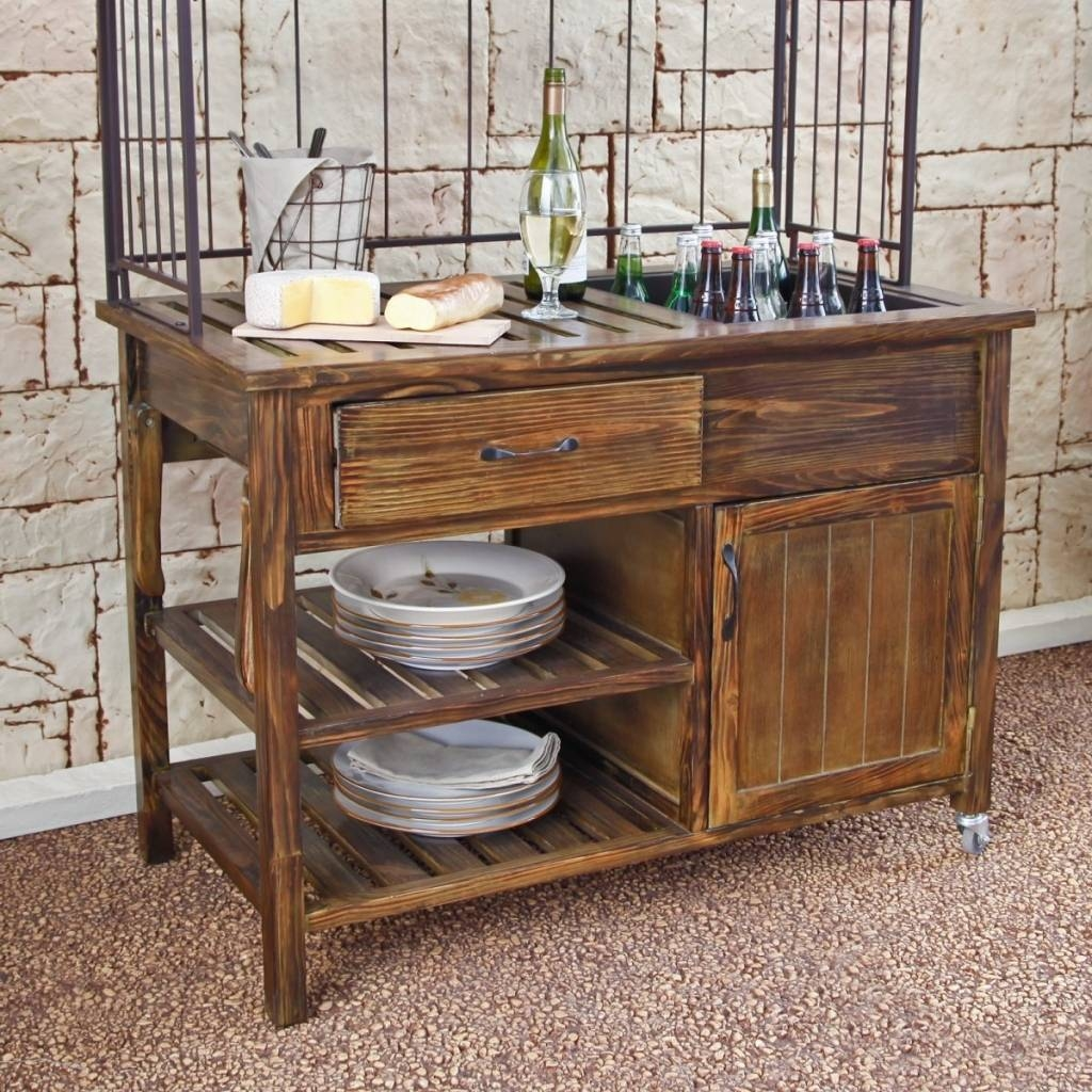 Sideboard Sideboards: Outstanding Outdoor Sideboards And Buffets Pertaining To Most Current Outdoor Sideboard Cabinets (#12 of 15)