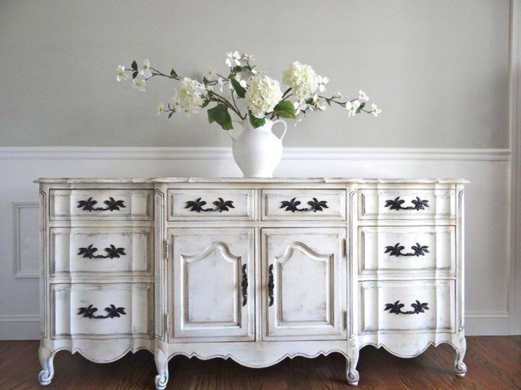 Popular Photo of Whitewash Buffets Sideboards
