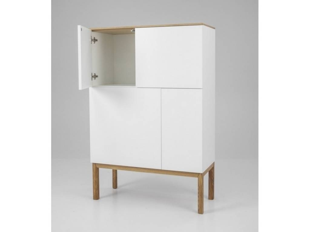 Sideboard Tenzo Patch Tall Sideboard » Innoshop | Within Tall For Most Current Tall Narrow Sideboards (#9 of 15)
