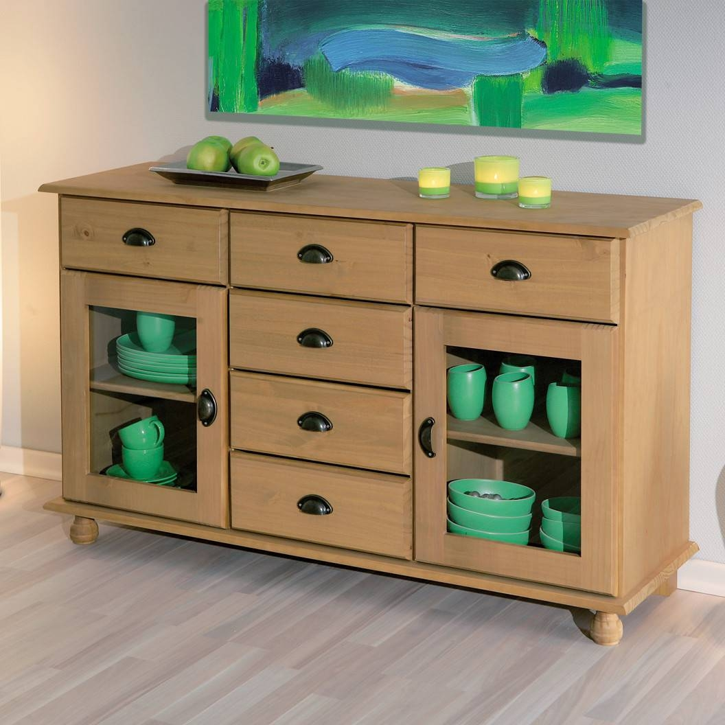 Sideboard With Glass Door – Peytonmeyer With Regard To Recent Sideboards With Glass Doors And Drawers (#7 of 15)