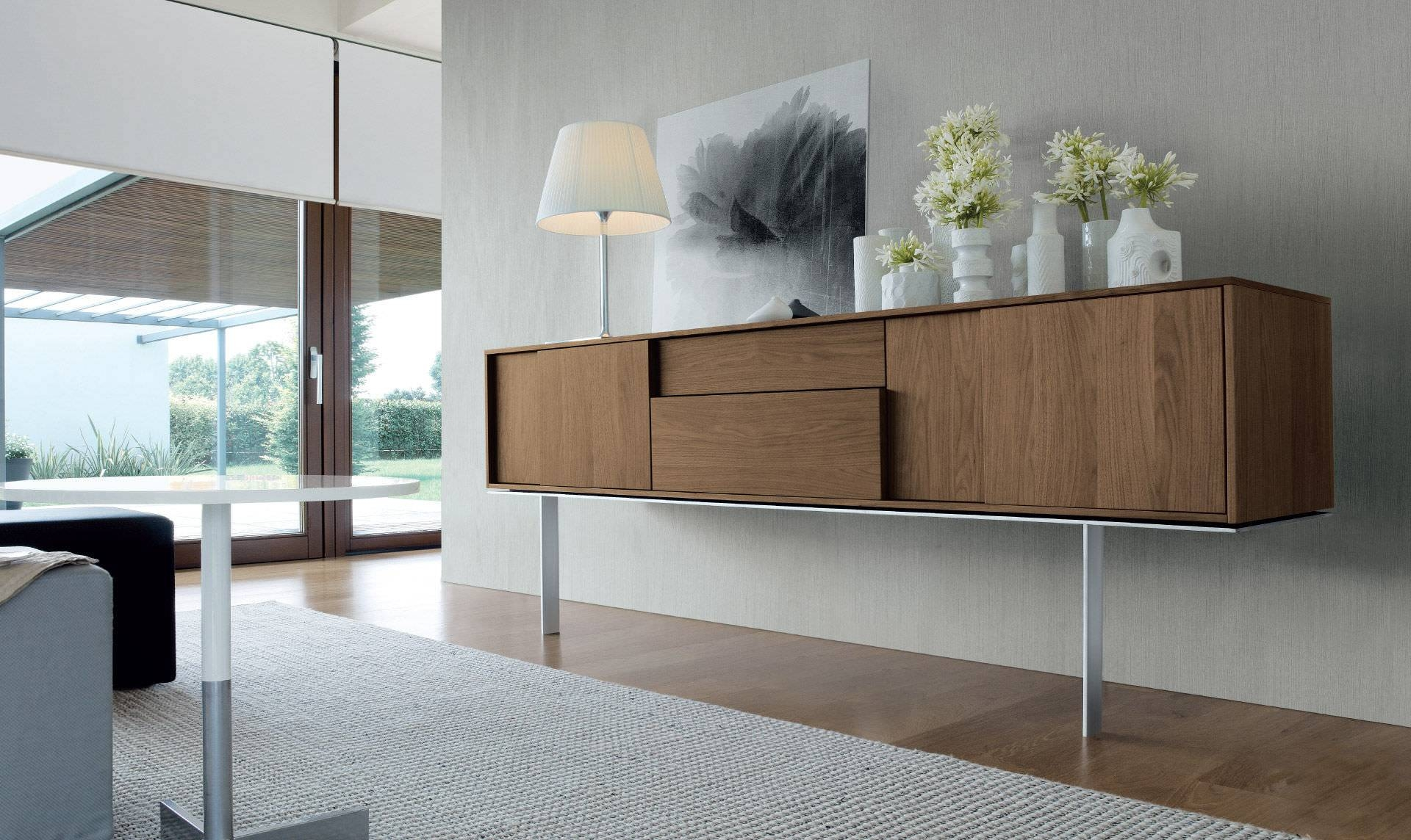 Sideboard With Long Legs / Contemporary / Wooden – Framesergio Within Most Up To Date Long Sideboards (#10 of 15)