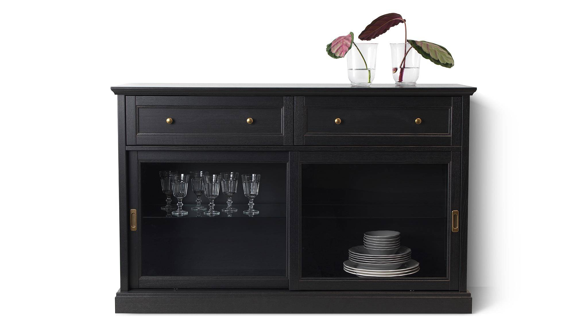 Sideboards & Buffet Cabinets | Ikea Regarding Newest Black Brown Sideboards (#14 of 15)