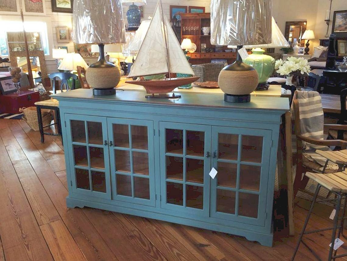 Sideboards – Buffets – Dining Room Storage & Servers Pertaining To 2018 Sideboards With Glass Doors And Drawers (#10 of 15)