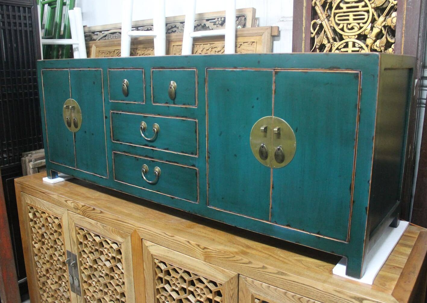 Sideboards | Just Anthony Pertaining To Most Up To Date Green Sideboards (#14 of 15)