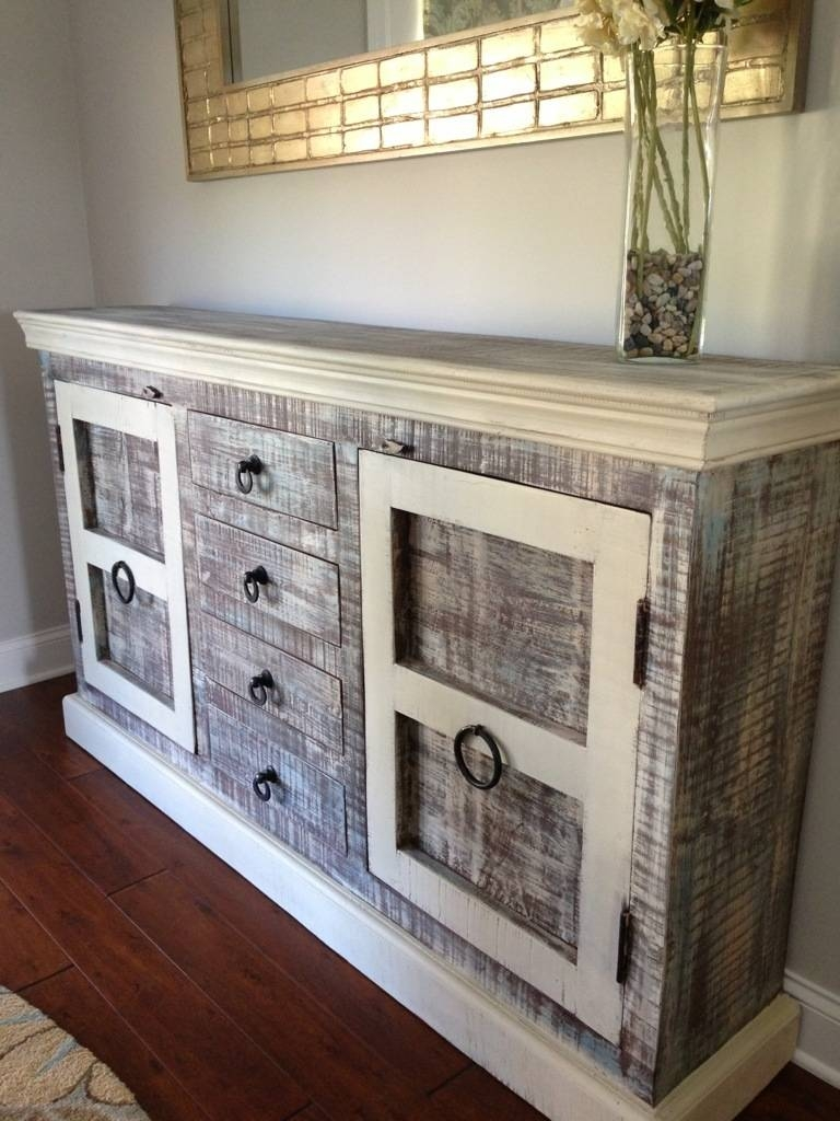 Popular Photo of Rustic Sideboards Buffets